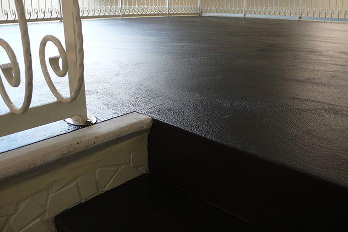 Fugenlose mineralische Wand- und Bodenbeläge Beispiel 3