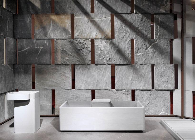 Wand- und Bodenbeläge fürs Bad aus Naturstein