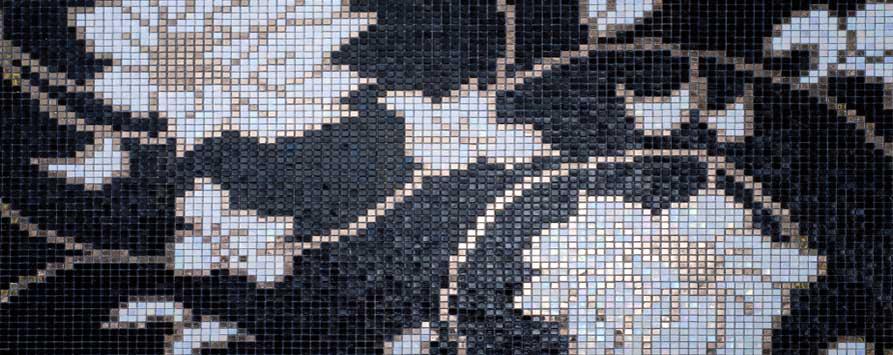 Glasmosaik von WEP